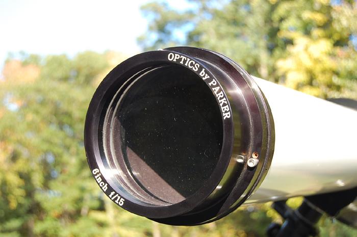 Dick parker s telescope mirror workshop refractor telescope project