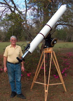 Dick Parker's Telescope Mirror Workshop: Refractor Telescope